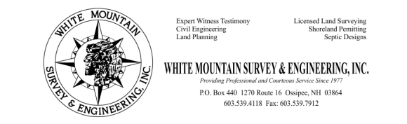 White Mtn. Survey